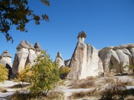 The most iconic imagery of Cappadocia: The Fairy Chimneys. Strange looking aren't they?