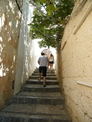 Getting lost in Lindos
