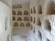Niches carved in the entrance rooms of the amazing Church